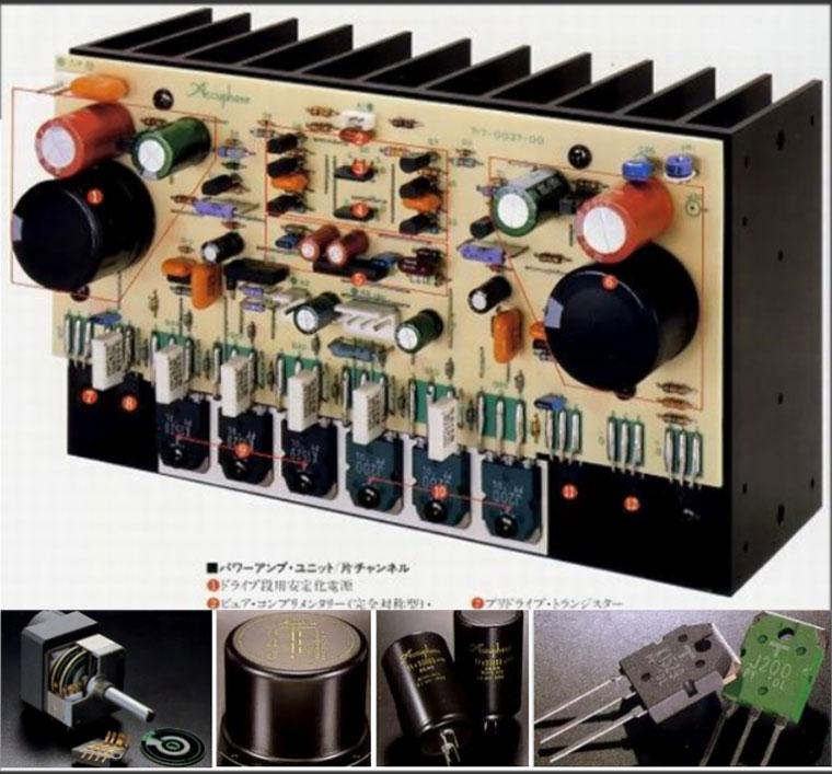Chi tiết công nghệ và cấu tạoAccuphase E 305V