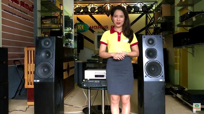 Loa nghe nhạc vàng cao cấp JBL L7