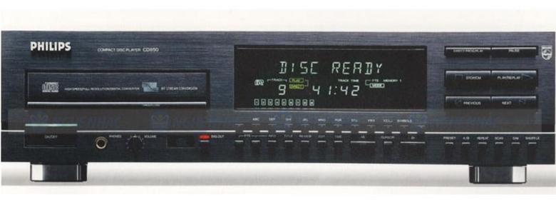 Đầu nghe nhạc Philips CD850